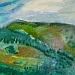 1996. <i>Acrylics painting on paper, 100 x 35 cm.</i>