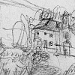 Maddalena is a small locality near to Imola, in the Apennines. In 2006 I have been in the Anna house drawing many small landscapes sketches, 2006. <i>Pencil on paper, A4.</i>